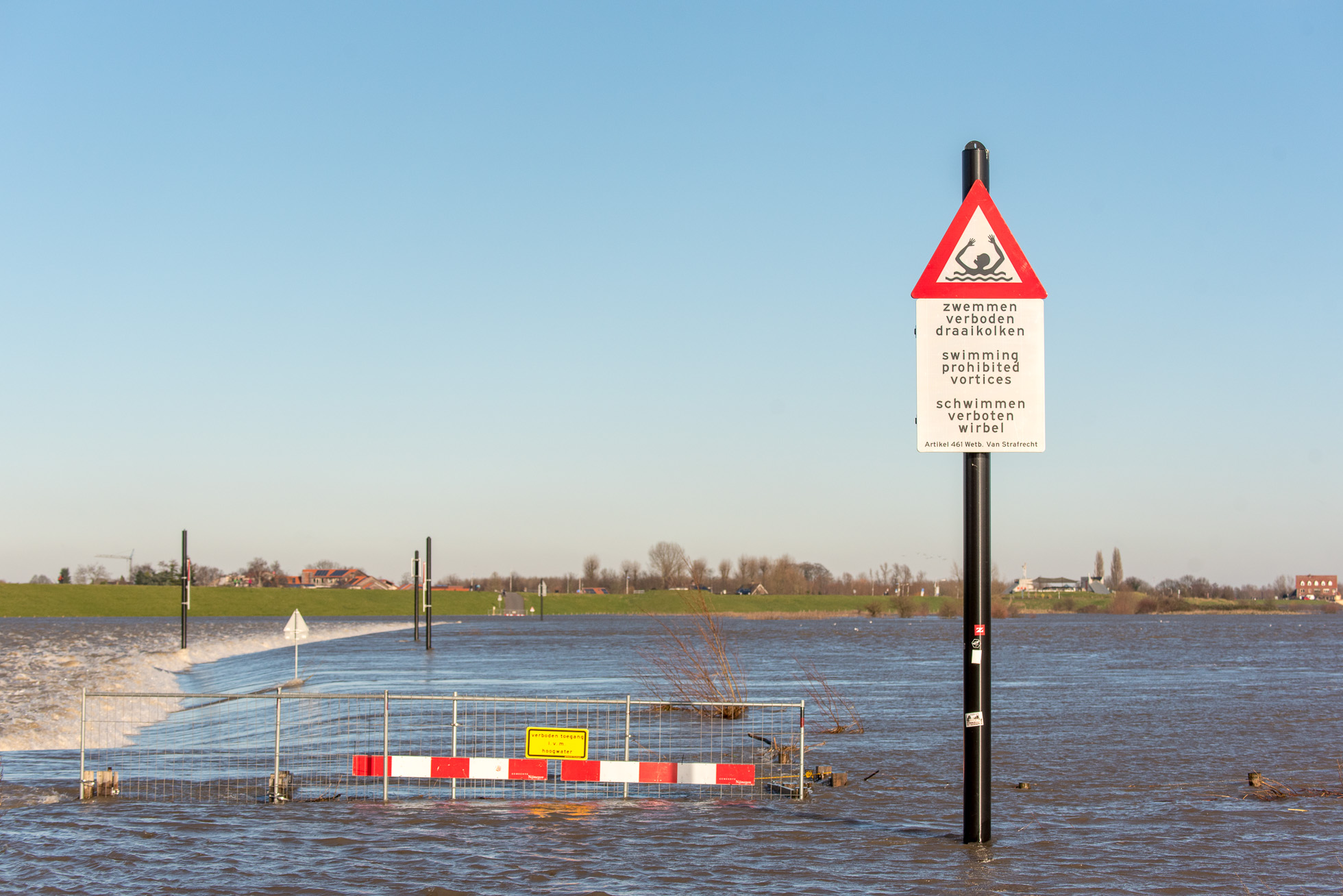 Hoogwater en dijkbewaking